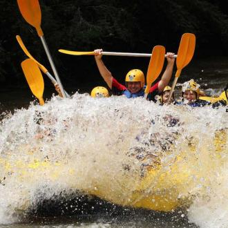 Rafting on the Noce River