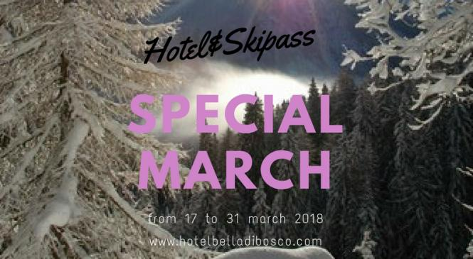 Special March on the Snow in Val di Sole.. Hotel&Skipass da 535 euro!