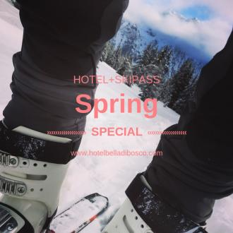 Skiing in the spring? Yes here you can! from 479 euros per person