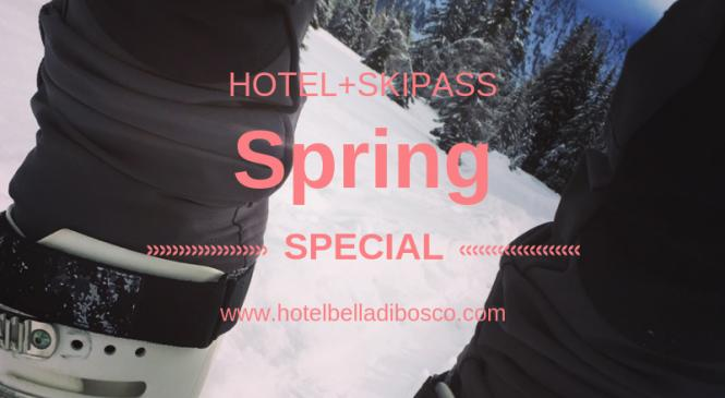 Skiing in the spring? Yes here you can! from 455 euros per person