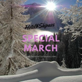Special March on the Snow in Val di Sole.. Hotel&Skipass da 499 euro!